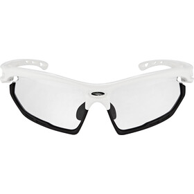 Rudy Project Fotonyk Glasses white gloss - impactx photochromic 2 black